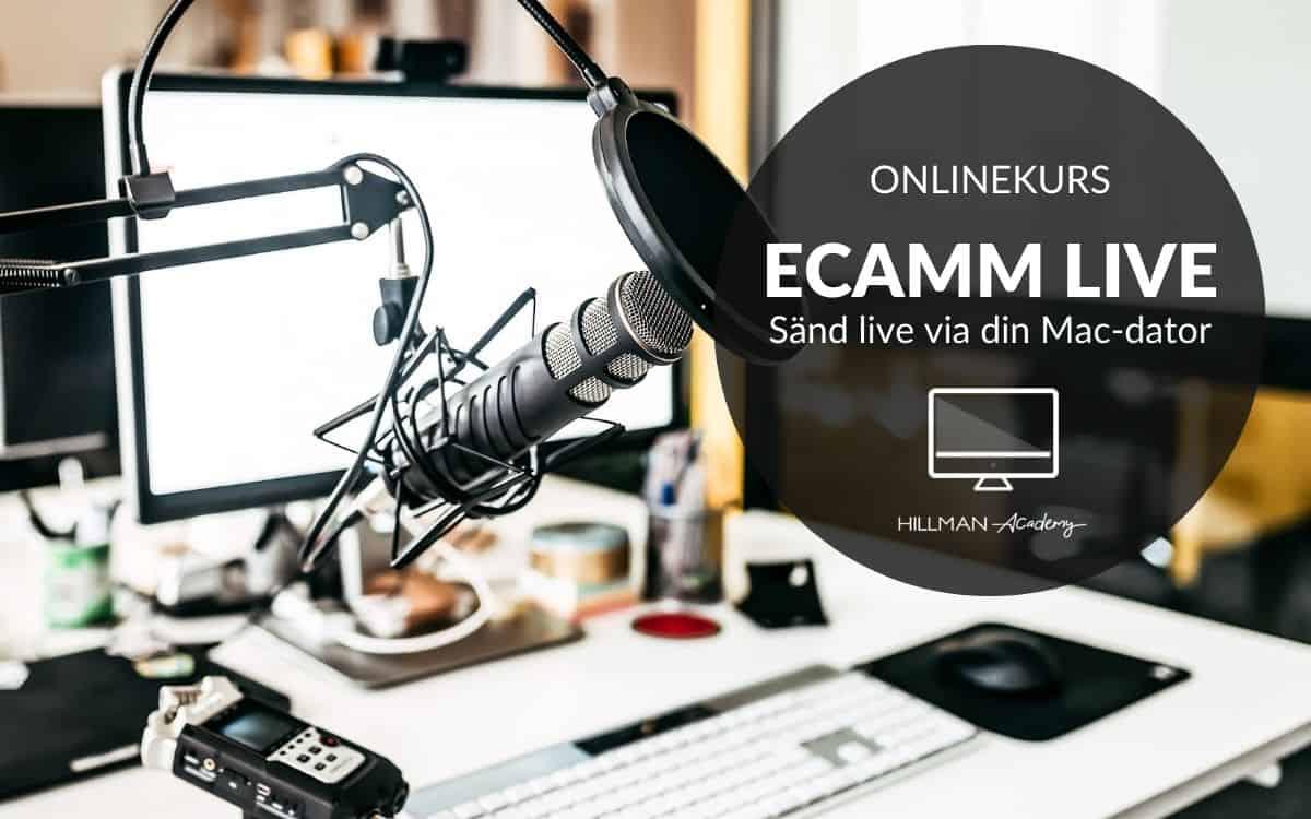 Ecamm | Sända live & spela in på MAC