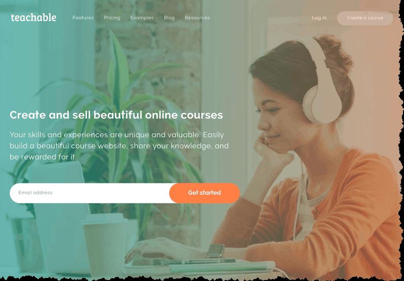 Teachable kursplattform på svenska